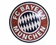 wood inlay table, Football Club Bayern München