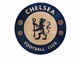 wood inlay table, Football Club Chelsea