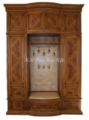 egyedi bútor 43, előszoba beépített szekrény