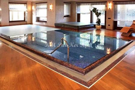 egyedi padló, vizes helyiség
