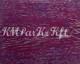 finition parquet, huile teintée, Amethyste Lapis Lazuli