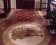 médaillon, rosace de parquet en marqueterie 17, Bureau d'évêque à Szombathely