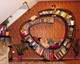 meuble sur mesure 01, étagère escargot coin lecture