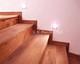 fa lépcső 09, rusztikus tölgy
