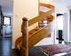 fa lépcső 36, íves
