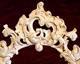 faragott bútor 40, barokk tükörkeret, faragás