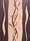 intarzia kép -Bambusz