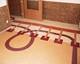 linóleum padló 13, intarzia mintás, Wesselényi Közalapítvány