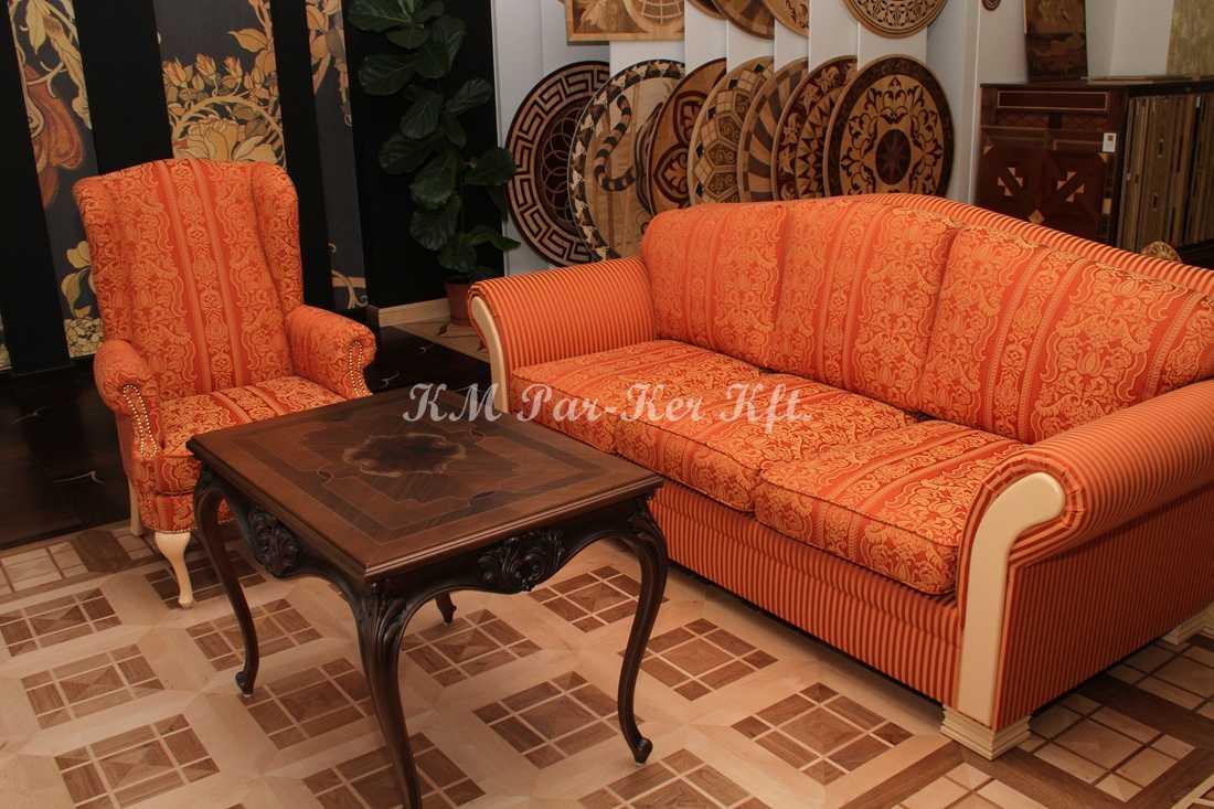 ülőgarnitúra bútor 01, szivacsos kanapé, fotel