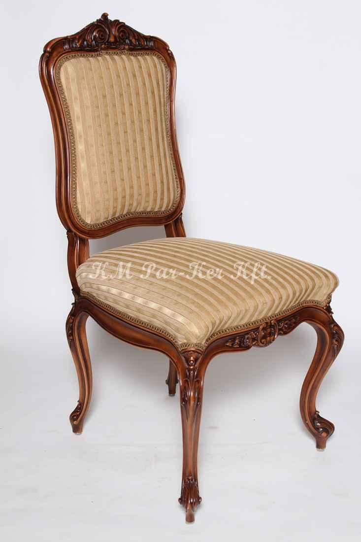 ülőgarnitúra bútor 10, neobarokk faragott szék