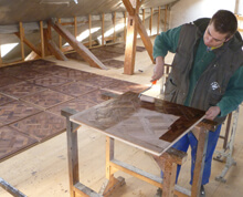 parquet custom surface treatment