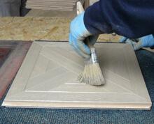 Intarsien und Tafelparkett Oberflachenbehandlung