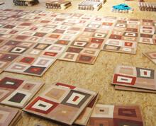 Intarsien und Tafelparkett, verlegen