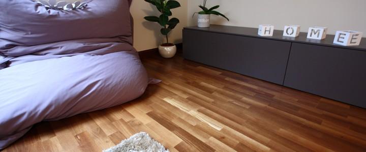 szalagparketta -padlófűtés