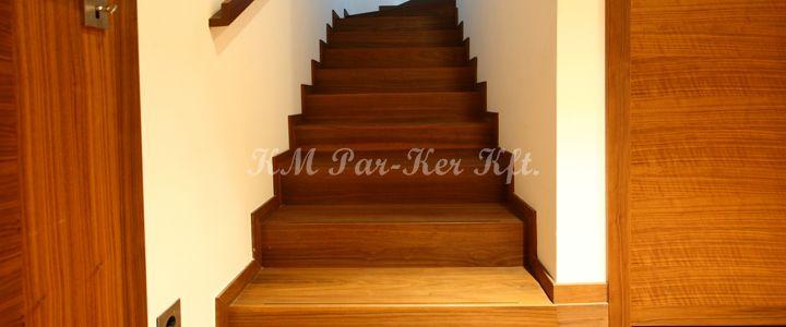 fa lépcső dió