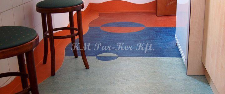 linóleum padló