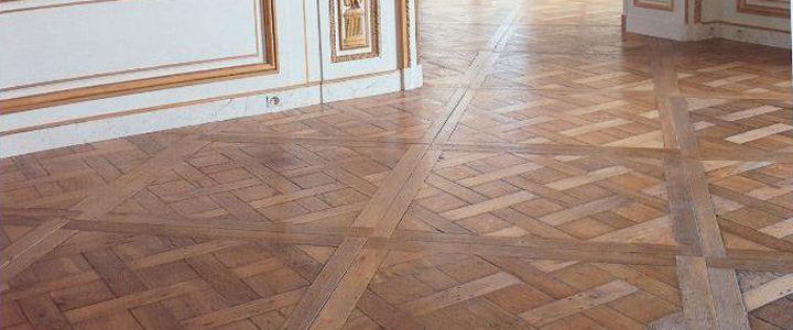 antik padló Versailles minta