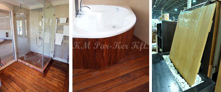 fa burkolat fürdőszobába