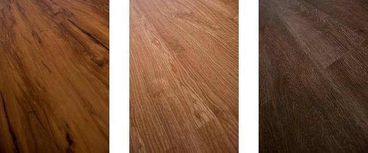 fa mintázatú PVC padló