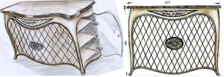 egyedi bútor készítés terv